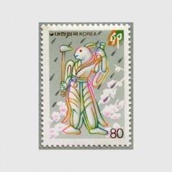 韓国 1986年'87年用年賀