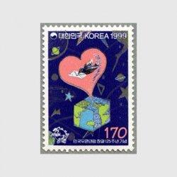 韓国 1999年UPU125年