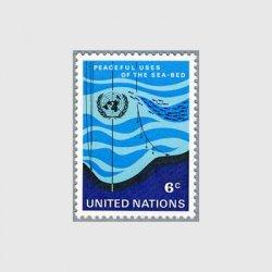 国連 1971年魚群と探査機
