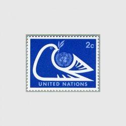 国連 1974年国連エンブレムとハト