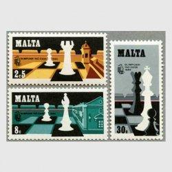 マルタ 1980年チェスオリンピック3種
