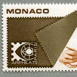 モナコ 1975年パリ国際切手展