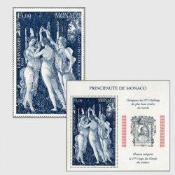 モナコ 1995年サンドロ・ボッティチェッリ「春」