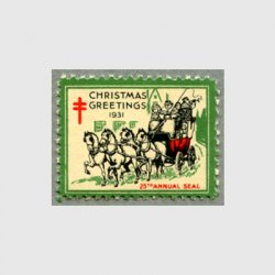 アメリカ 1931年クリスマスシール