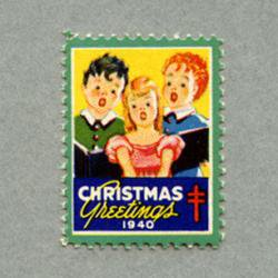 アメリカ 1940年クリスマスシール