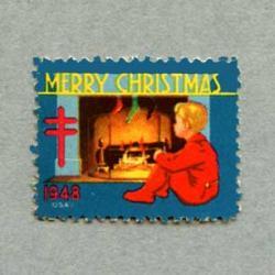 アメリカ 1948年クリスマスシール