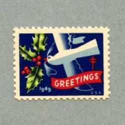 アメリカ 1949年クリスマスシール