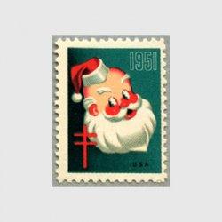 アメリカ 1951年クリスマスシール