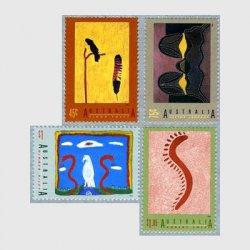 オーストラリア 1993年アボリジニの芸術4種