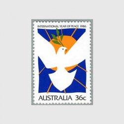オーストラリア 1986年国際平和年