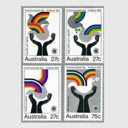 オーストラリア 1983年国家の日4種※少シミ