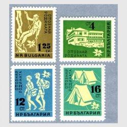 ブルガリア 1961年 know your country4種※少シミ