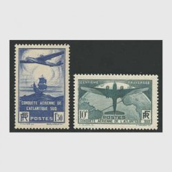 フランス 1936年第100回南大西洋横断航空郵便