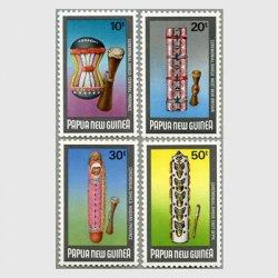 パプアニューギニア 1984年儀式の盾4種