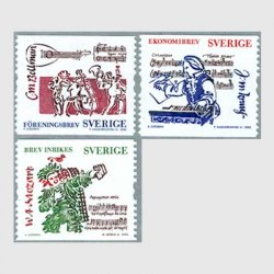 スウェーデン 2006年音楽家コイル3種