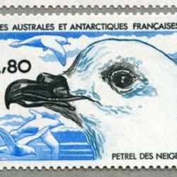 仏領南方南極地方 1985年皇帝ペンギンなど2種
