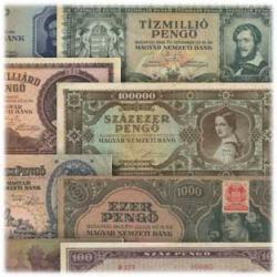 ハンガリー紙幣10種