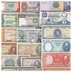中南米紙幣21種
