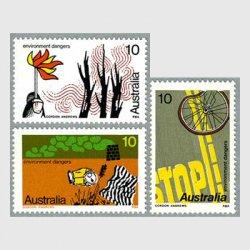 オーストラリア 1975年環境保護など3種