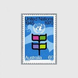 オーストラリア 1970年国連25年
