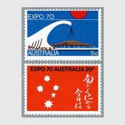 オーストラリア 1970年EXPO'70大阪2種