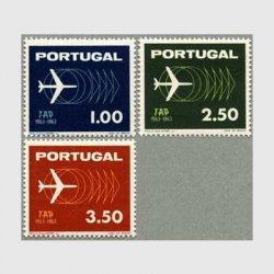 ポルトガル 1963年TAP10年3種