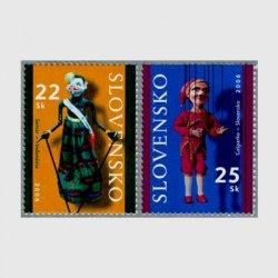 スロバキア 2006年パペットシアター2種