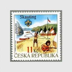 チェコ共和国 2007年ヨーロッパ切手スカウト100年