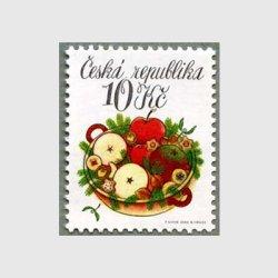 チェコ共和国 2008年クリスマス りんごのバスケット