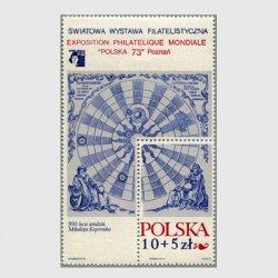 ポーランド 1972年コペルニクス生誕500年小型シート