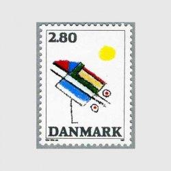 デンマーク 1987年Ejler Billeの作品