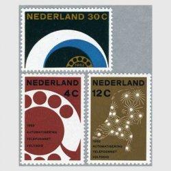 オランダ 1962年電話回線自動化3種