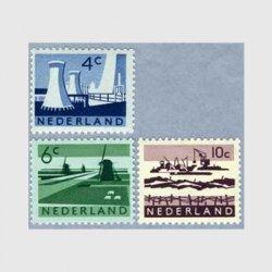 オランダ 1962年風車のある風景など3種