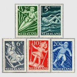 オランダ 1948年子供の遊び5種