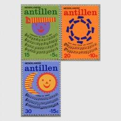オランダ領アンチル諸島 1974年子供とスコア3種