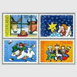 オランダ 1983年子供のクリスマス4種