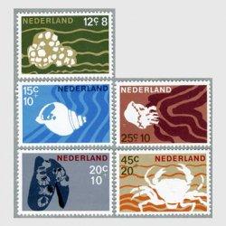 オランダ 1967年海洋生物5種
