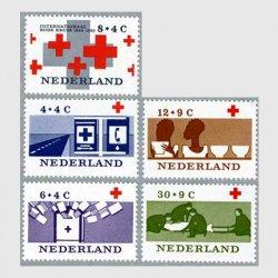 オランダ 1963年国際赤十字100年5種