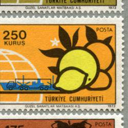 トルコ 1973年輸出品6種