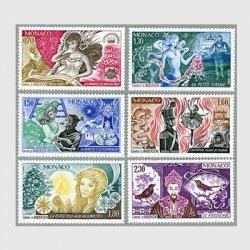 モナコ 1980年アンデルセン童話6種