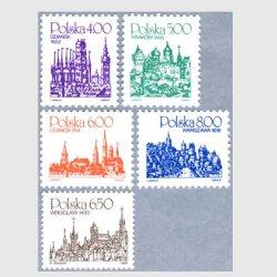ポーランド 1981-82年教会5種