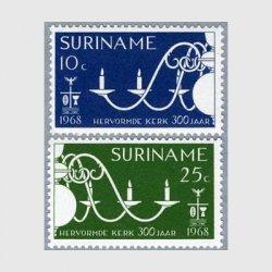 スリナム 1968年シャンデリア2種