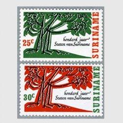 スリナム 1966年議会100年2種