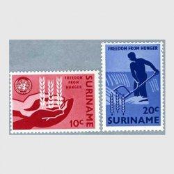 スリナム 1963年FAO2種