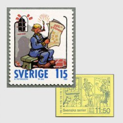 スウェーデン 1980年コミックキャラクターMandel Karlsson