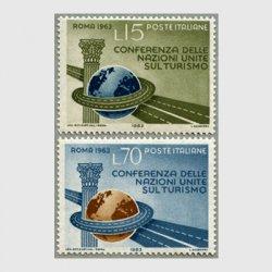 イタリア 1963年国連観光会議2種