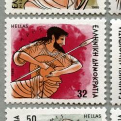 ギリシャ 1986年オリンポス12神