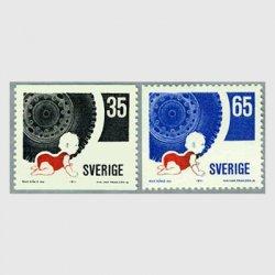 スウェーデン 1971年交通安全