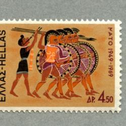 ギリシャ 1969年NATO20年