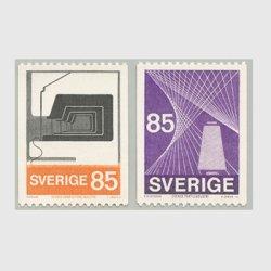 スウェーデン 1974年織物と製糸工場2種